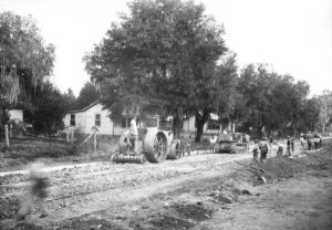 Brooksville Road Construction late 1926