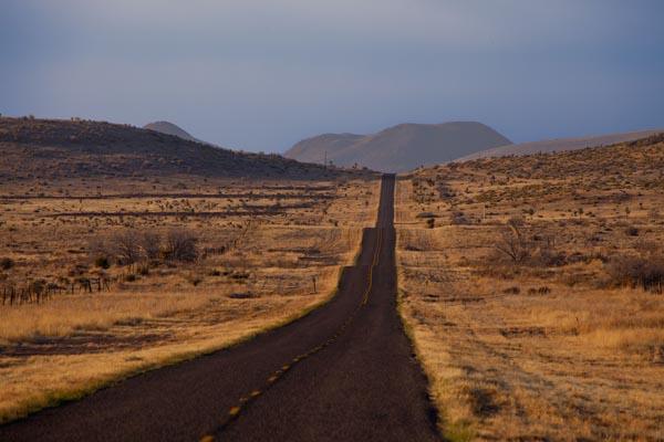 State Highway 116 Near Valentine, Texas.