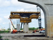 A field trip arranged by HDR's new manager Bryan M. Sturm introducing the new and experienced Bridge E.I.Ts to early phase on-site bridge construction at Sister's Creek, Jacksonville, FL.
