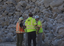 The Oklahoma Department of Transportation enlisted the help of internationally-recognized experts to help clear a rock slide that closed part of I-35 in southern Oklahoma.