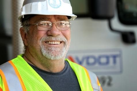 Randy D. Smith, Equipment Operator at the Manassas Area Headquarters.
